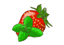 Blu Aromatische Erdbeer-Minze