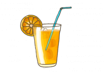 Blu Prickelnde Limo-Pflanze