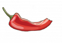 Blu Mittelscharfe Snack-Chili