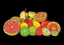 Blu Tropischer Frucht-Salbei