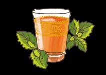 Blu Beliebte Marokkanische Tee-Minze