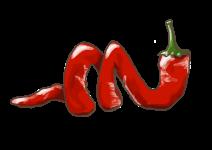 Blu milder Spiral-Chili