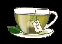 Blu echte Tee-Pflanze