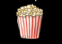 Blu Schwarzer Popcorn-Mais